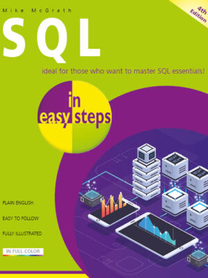 SQL in easy steps ebook for Kindle, Apple Books, Google Play, Kobo and Nook